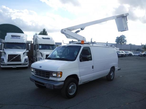 1996 Ford Econoline E-350 Cargo Van Bucket Truck