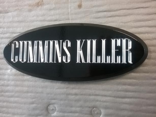 Custom Ford Truck Badges