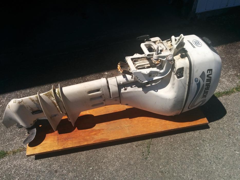 Free: Evinrude 9 9hp 4 stroke outboard Saanich, Victoria