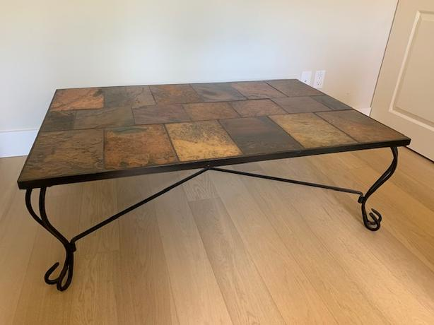 South African Slate Coffee Table Esquimalt View Royal Victoria Mobile
