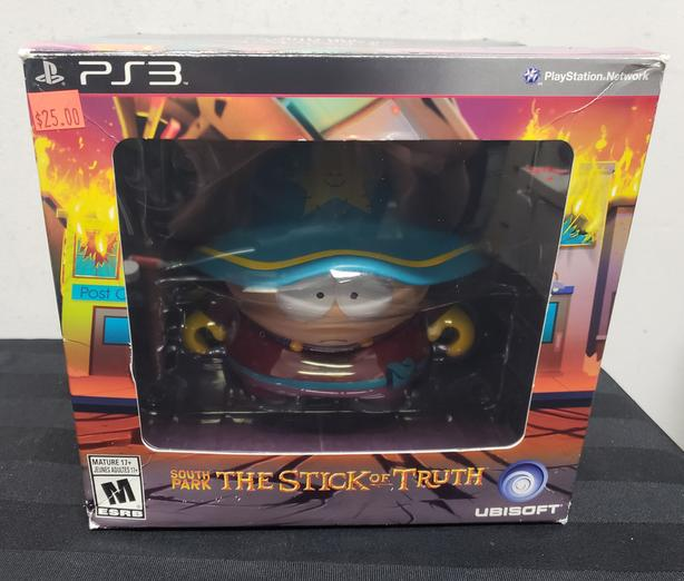 PS3 Game South Partk Stick of Truth Collector's Edition