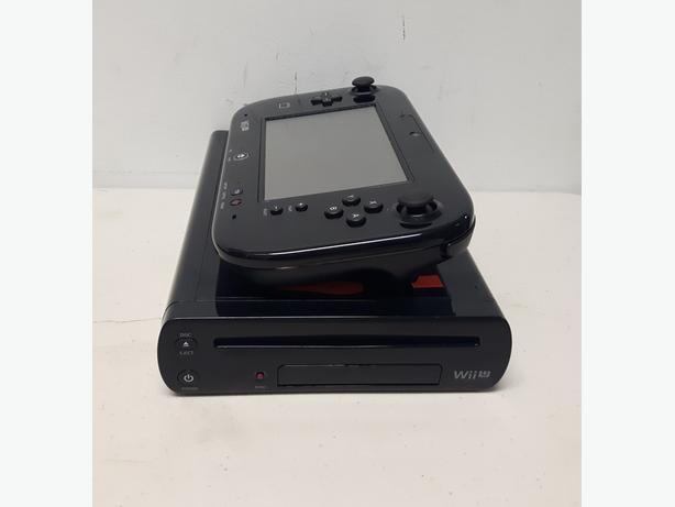 Black Nintendo 32GB Wii U Console