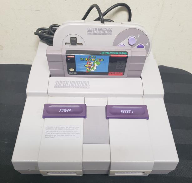 Super Nintendo Console Bundle