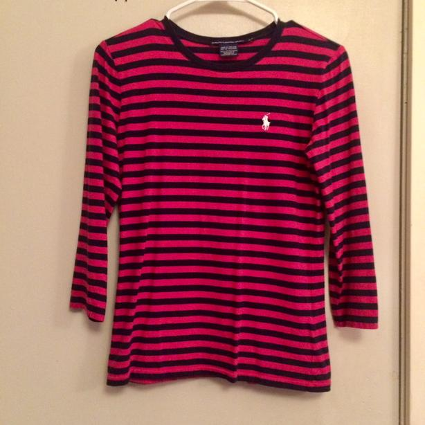 Ralph Lauren 3/4 Sleeve Shirt, Ladies Small
