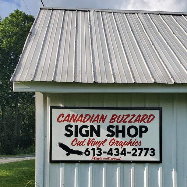 Canadian Buzzard Sign Shop