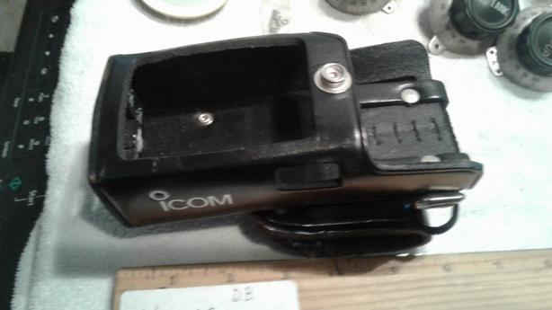 Icom Portable Radio Leather Pouch for IC-A4,IC-F3 ,IC-F3S,IC-F4,IC-F4S,IC-F4TR
