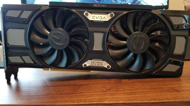 EVGA GTX 1070 SC 8GB Saanich, Victoria
