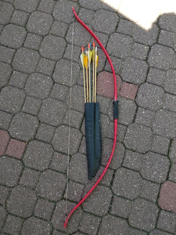 20lbs bow and blunt arrows