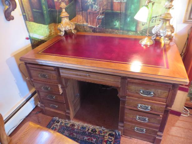 FANTASTIC ANTIQUE DESK CIRCA 1875  $650 Or Best Offer