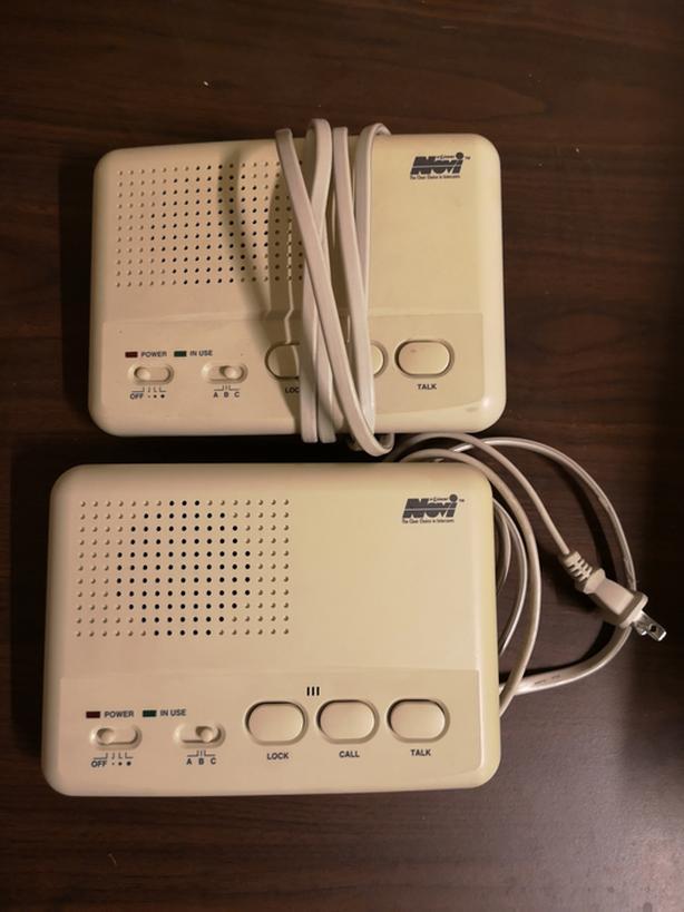 Intercom set in working condition