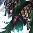 New Saskatchewan Roughriders hightop shoes.