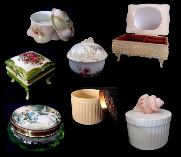 Decorative Trinket Boxes