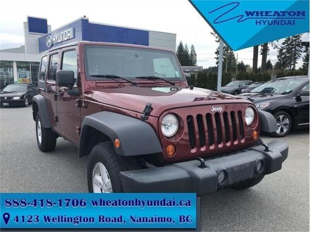 2007 Jeep Wrangler Unlimited X - Alloy Rims -  Bluetooth