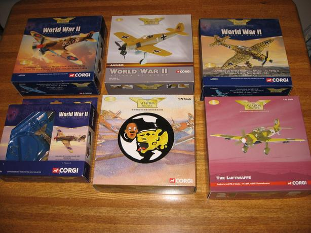 Corgi Aviation Archive Diecast Aircraft Airplane Models