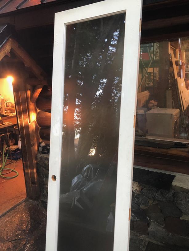  Log In needed $400 · New Tall Glass Pre-Primed Interior Door