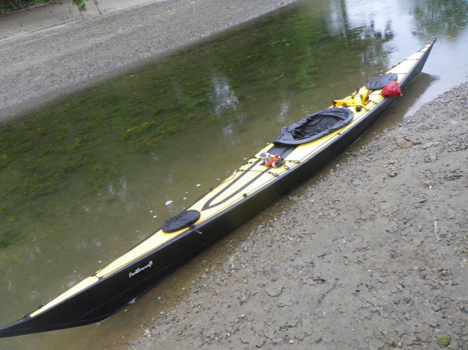 $4,500 · MINT CONDITION Feathercraft Khatsalano Folding Sea Kayak