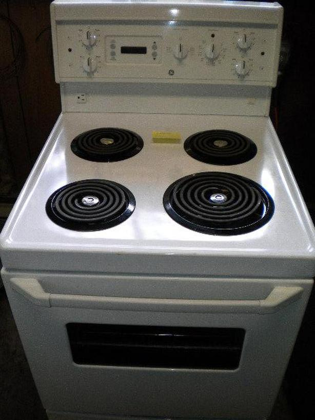  Log In needed $289 · White GE apartment size manual clean stove
