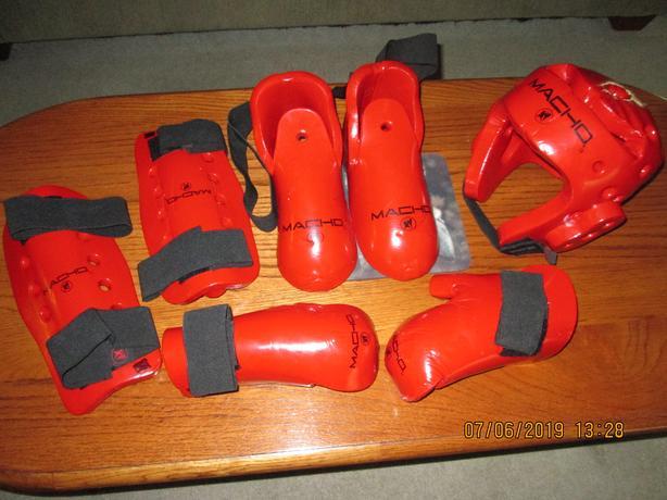Martial Arts Sparring Gear
