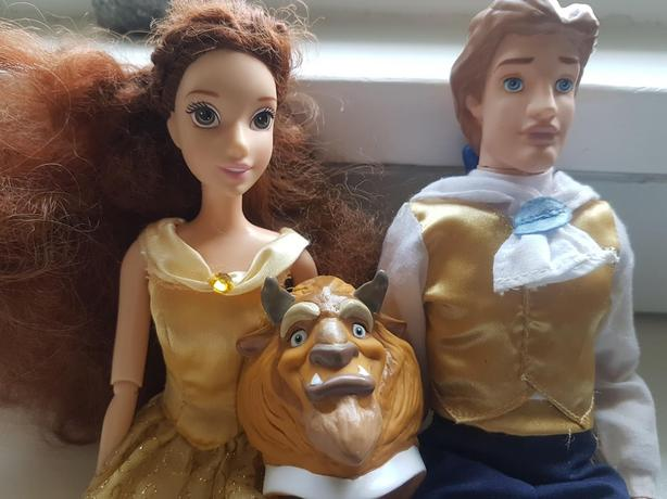 Disney Belle and the Beast Barbie Dolls