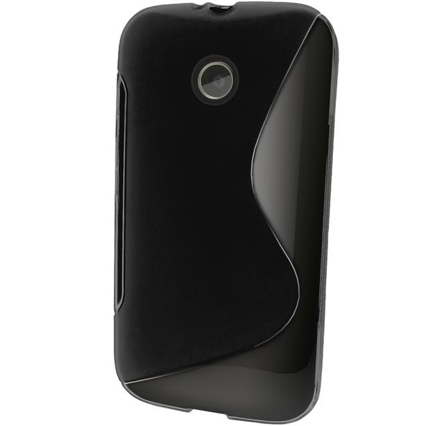 New Motorola MOTO E Gen 1 wraparound black case