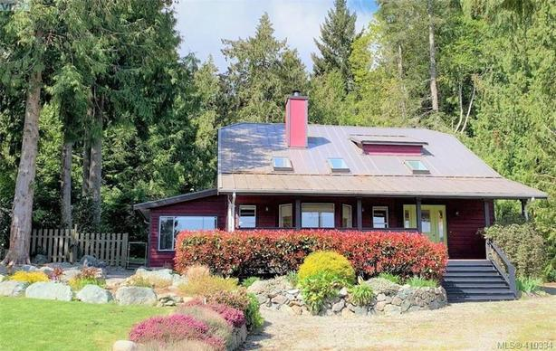 Nestled on just over an acre of beautifully landscaped land