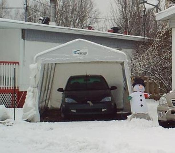 Winter shelter - Tempo Harnois!