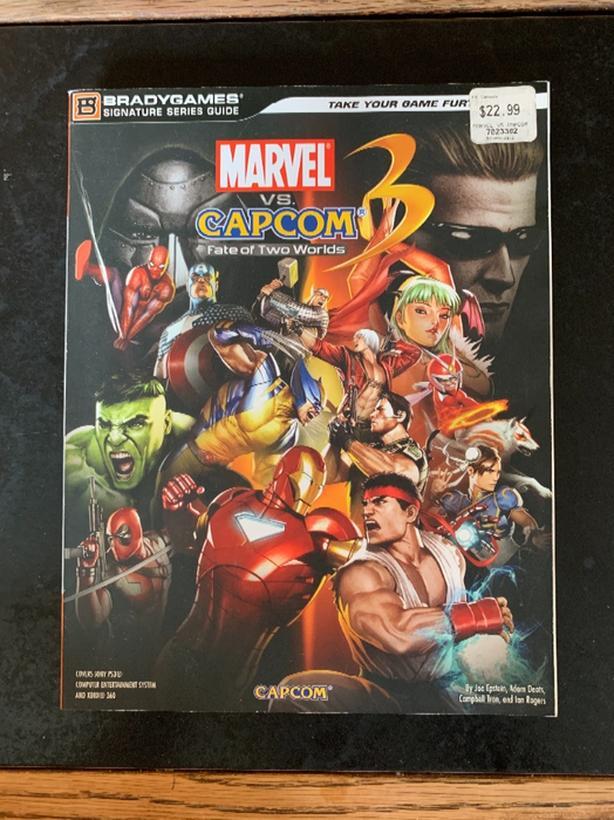 Marvel vs Capcom 3 Guide book