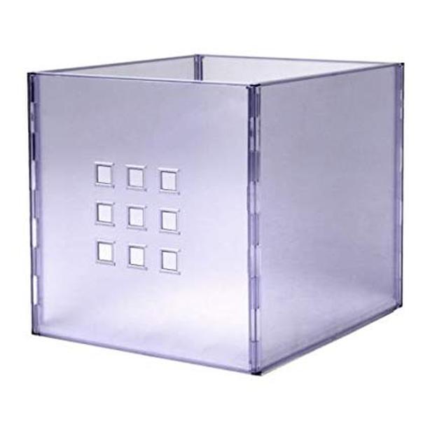 Ikea Clear plastic storage boxes, Lekman