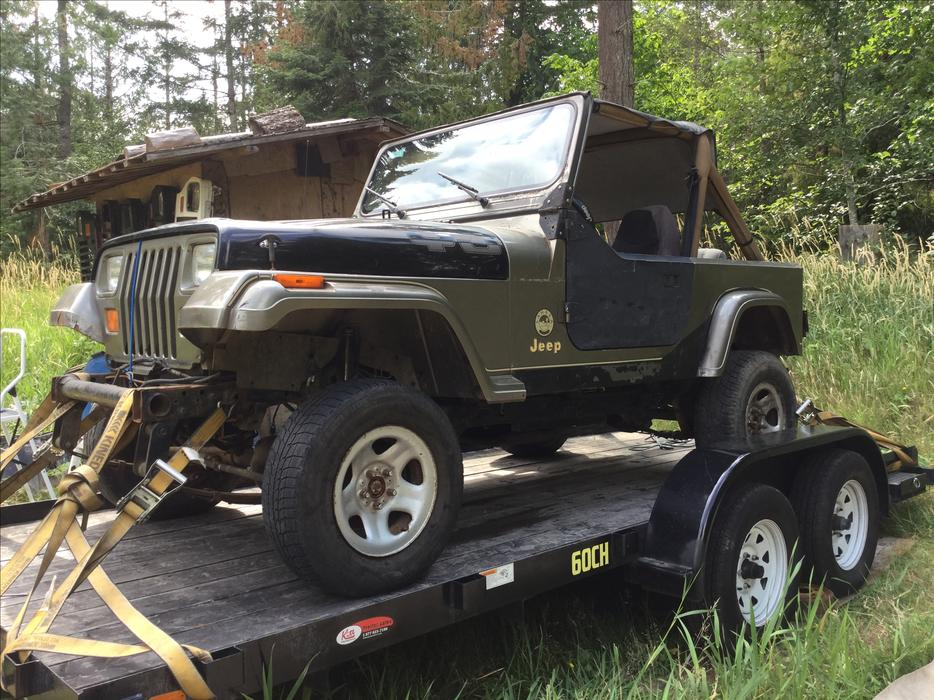used jeep yj parts canada