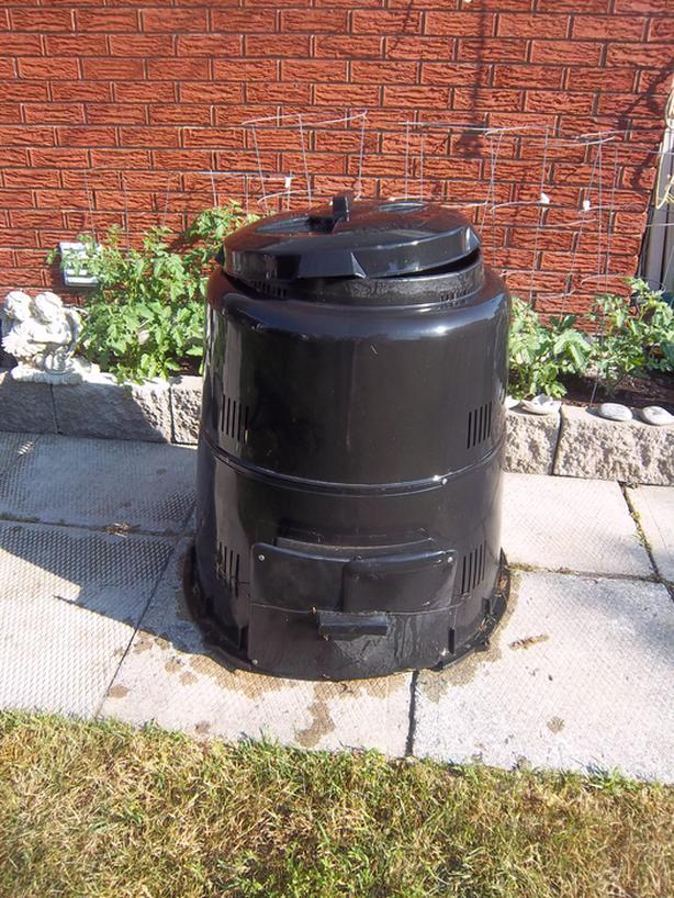 """Earth Machine"" composter"