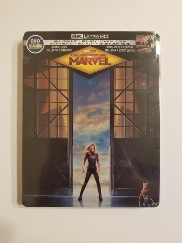 Captain Marvel Limited Edition SteelBook (4K Ultra HD)