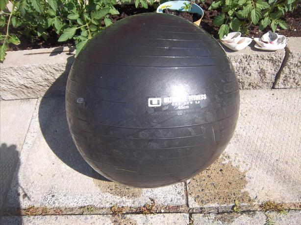 """Ultimate Fitness"" exercise ball"
