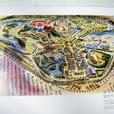 Lot of 2 Exhibition Catalogs: Art of Disneyland, Tokyo Disneyland Gallery