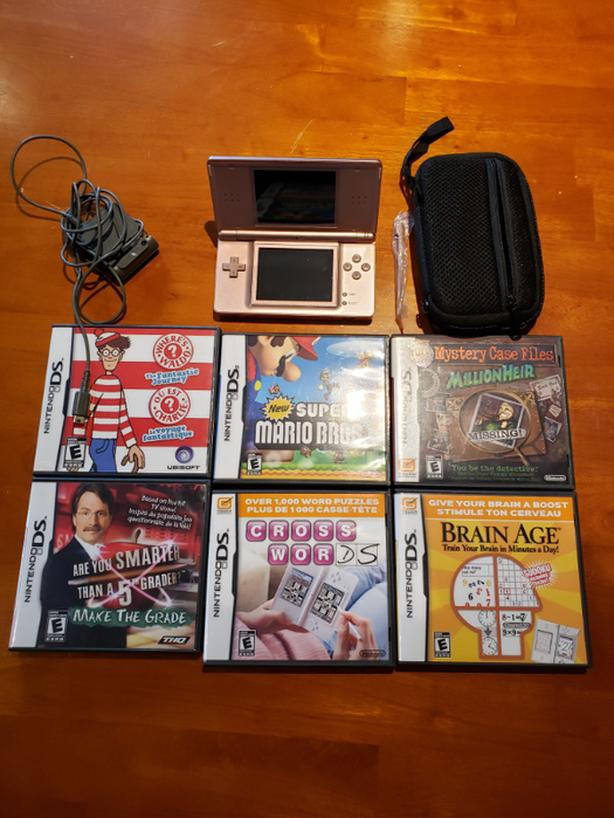 Nintendo DS lite Package with Case