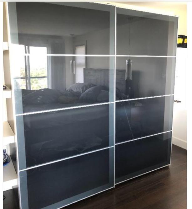  Log In needed $50 · IKEA PAX Wardrobe sliding Doors ONLY