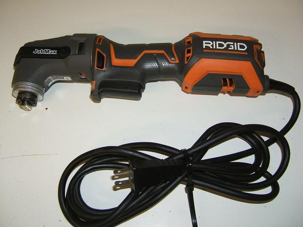 RIDGID jOBMAX R2851 4 AMP MULTI-TOOL W/TOOL-FREE HEAD