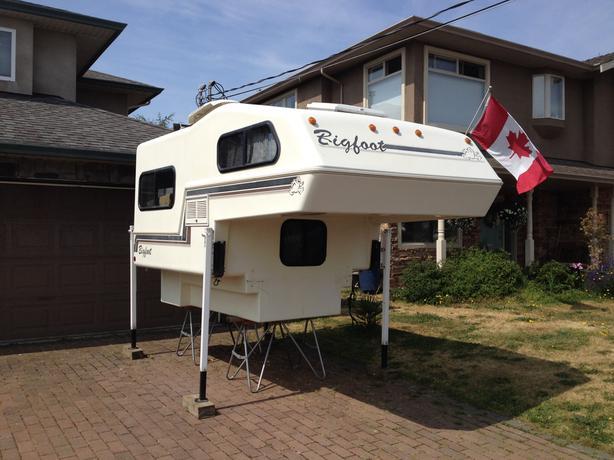  Log In needed $4,000 · Bigfoot Import Camper
