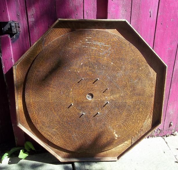Antique Crokinole Game