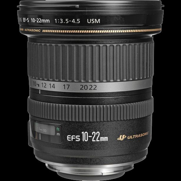 Wide Angle Camera Lens Canon EF-S 10-22mm f/3.5-4.5 USM Lens
