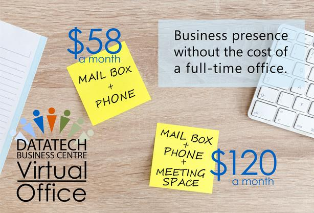 NEW RATES! Virtual Office BASIC: Mail Box + Phone