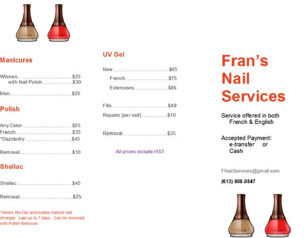 Fran's Nail Services