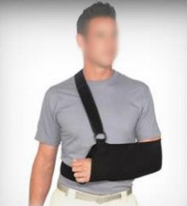 New Medical Quality Black Shoulder Splint - $15