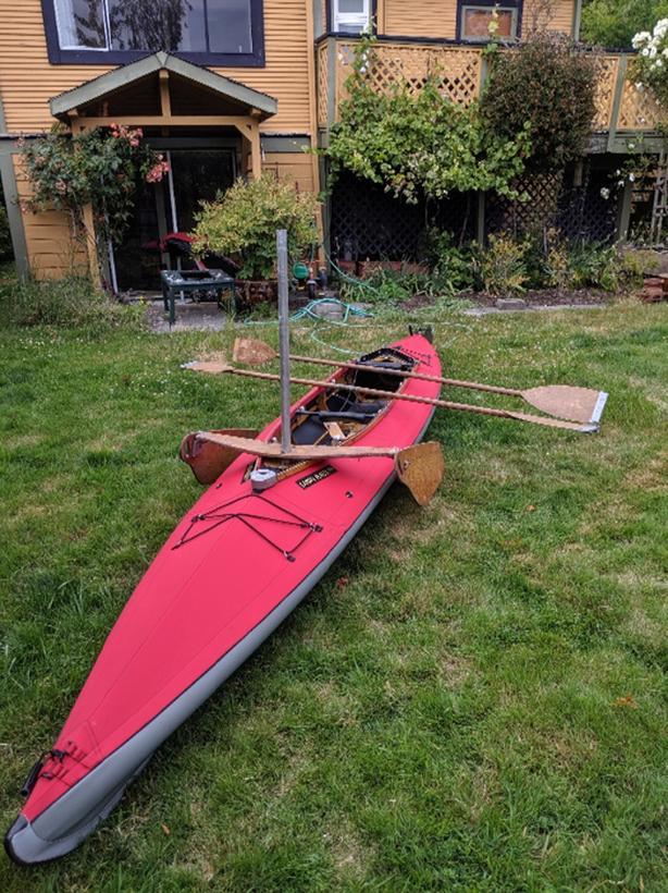  Log In needed $2,000 · Klepper Aerius II folding kayak (new skin, sail  kit)