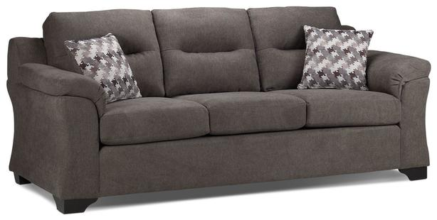 3 seater grey fabric couch great condition