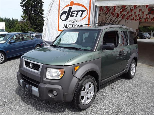 2003 Honda Element EX 2.4L 4 Cyl. AWD Unit Selling at Auction!