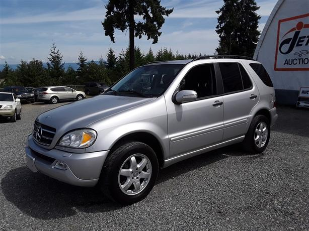 2002 Mercedes ML500 5.0L V8 AWD Unit Selling at Auction!