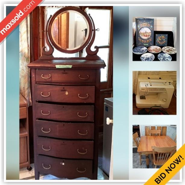 Norwood Moving Online Auction - Alma Street