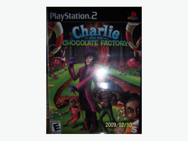 CASSELMAN - Game PLAYSTATION 2 Charlie & La Chocolaterie -