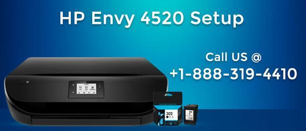 Steps to setup HP Envy 4520 printer