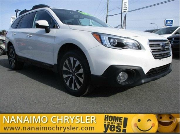 2016 Subaru Outback Limited Tech Package One Owner Low Kilometers